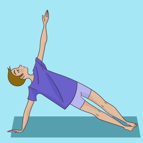 Vasishtâsana : la posture du Guetteur latéral