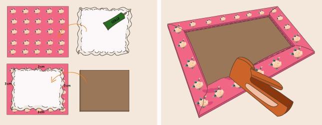 comment fabriquer un cadre photo p le m le. Black Bedroom Furniture Sets. Home Design Ideas