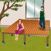 comment faire une terrasse sur pilotis. Black Bedroom Furniture Sets. Home Design Ideas
