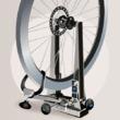 Dévoiler une roue de vélo et régler le saut