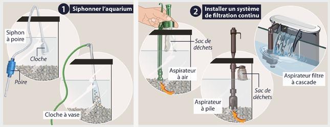 Comment changer l 39 eau d 39 un aquarium - Aquarium changer l eau ...