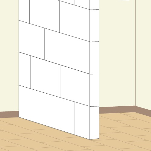 Construire un placard pour intégrer un lit escamotable