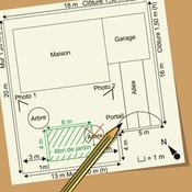 Comment faire un plan de masse - Dessiner un plan de masse ...