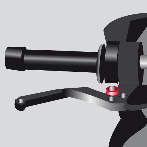 Changer un levier de frein sur une moto