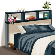 comment fabriquer une t te de lit avec rangements. Black Bedroom Furniture Sets. Home Design Ideas