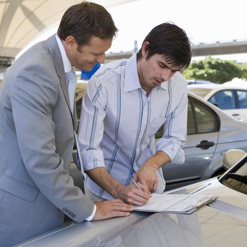 Faire une demande d'immatriculation pour une voiture d'occasion