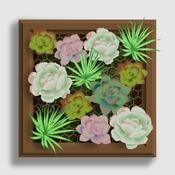 Fabriquer un cadre v g tal mural Tableau vegetal mural pas cher