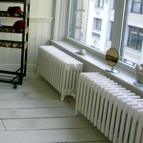 Sabler un radiateur