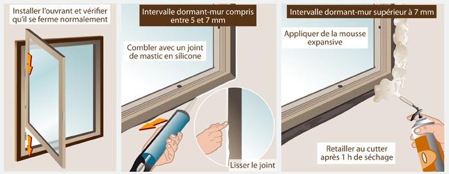 Joint silicone fenetre exterieur simple images jointes for Joint pour fenetre double vitrage
