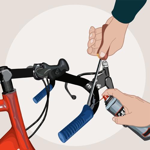 Changer un guidon de vélo
