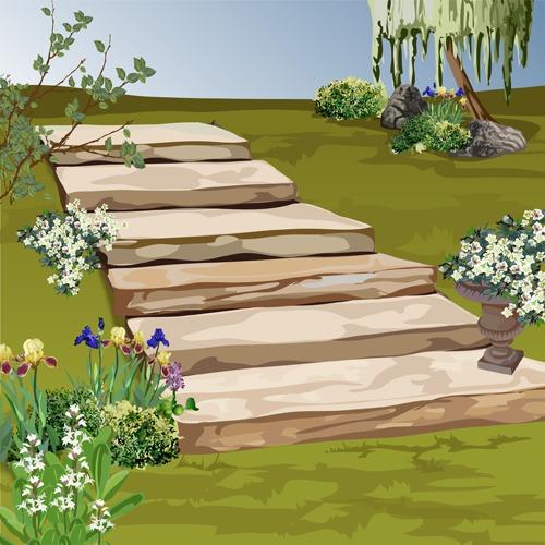Faire un escalier en pierre