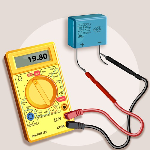Comment tester un condensateur ooreka - Tester condensateur avec ohmmetre ...