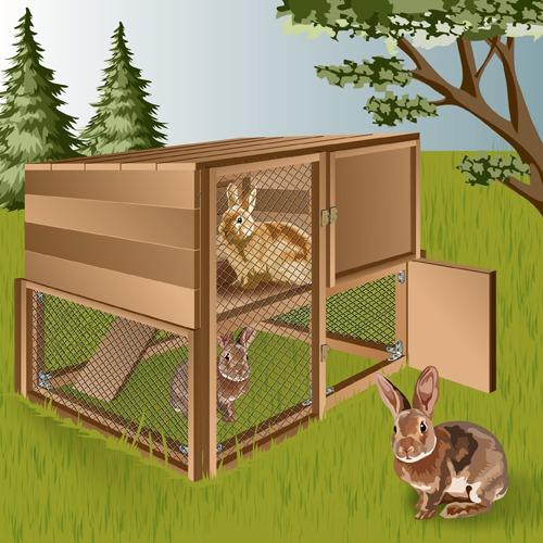 Comment fabriquer un clapier à lapin