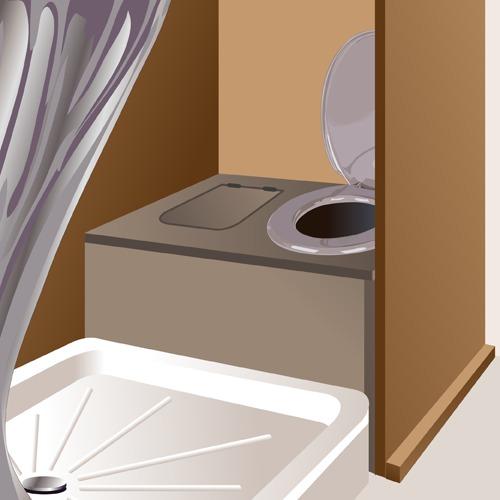 Aménager une salle de bains dans un fourgon