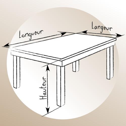 Réalisez le plan de votre future table en bois