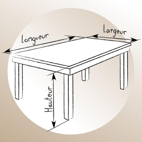 Parfait Fabriquer Une Table En Bois