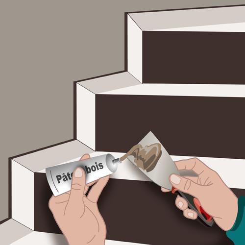 poser une plinthe dans un escalier ooreka. Black Bedroom Furniture Sets. Home Design Ideas