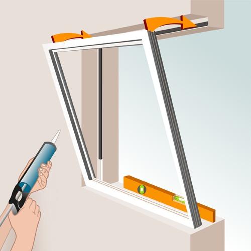 Comment poser une fenêtre en feuillure