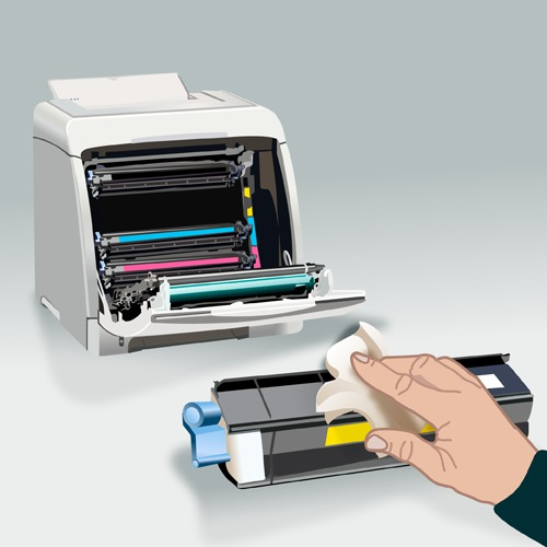 Nettoyer une imprimante laser