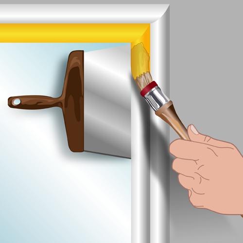 Rechampir ooreka - Comment peindre une porte au rouleau ...