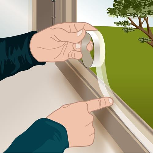 Calfeutrer une fenêtre