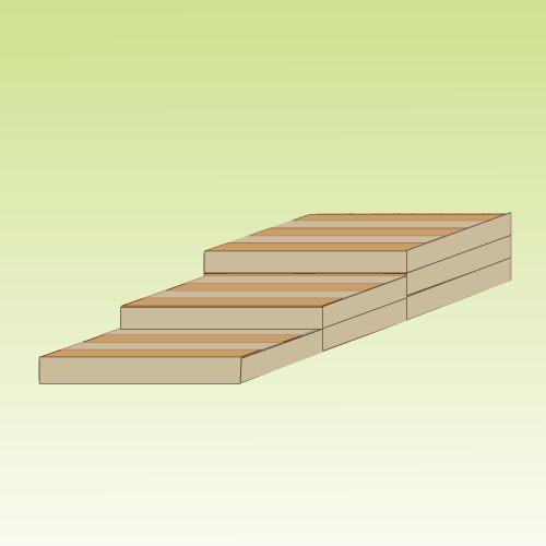 comment fabriquer un escalier en palette ooreka. Black Bedroom Furniture Sets. Home Design Ideas
