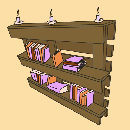 fabriquer une bibliotheque originale comment fabriquer une biblioth que en palette ooreka