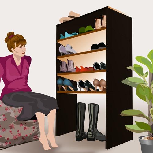 Comment Fabriquer Un Meuble A Chaussures Ooreka