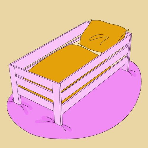 Fabriquer un lit pour enfant