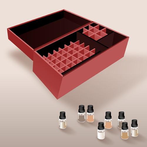 Fabriquer une aromathèque
