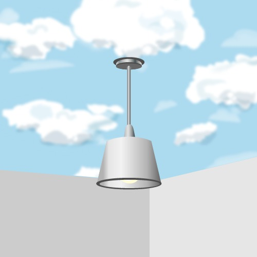 Réaliser un faux ciel au plafond