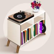 Fabriquer Un Meuble A Platine Vinyle Placard Rangement