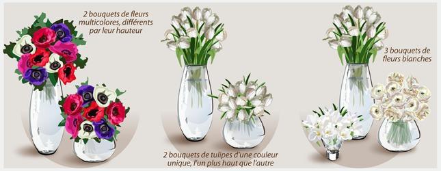 comment faire une d coration florale simple ooreka. Black Bedroom Furniture Sets. Home Design Ideas