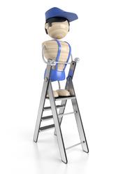 Installation monte escalier par un professionnel