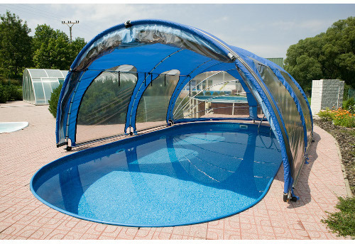 Abri de piscine serre ooreka for Piscine gonflable 2m