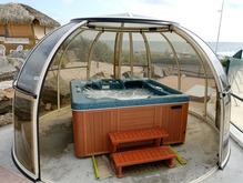Abri de spa structure mod les prix ooreka - Abri pour spa gonflable ...