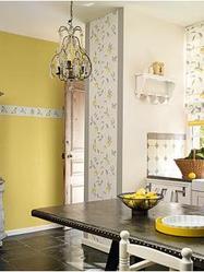 Papier peint cuisine bien choisir un papier peint pour cuisine - Papier peint cuisine lessivable ...