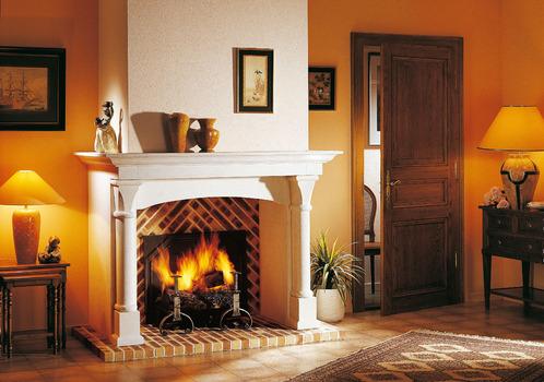 Cheminee brique infos et prix d une chemin e en brique for Brique foyer interieur