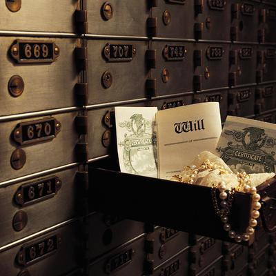 Service bancaire : la location d'un coffre-fort