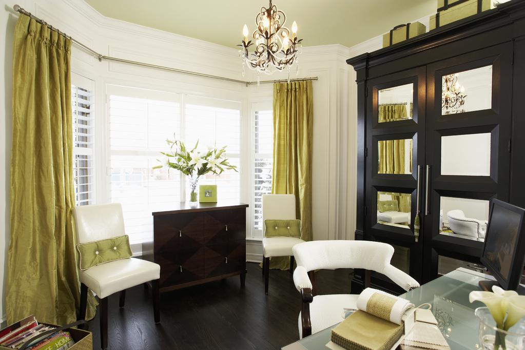 Tissus Double Rideaux Grande Largeur – Idées d'images à la maison