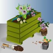 Construire une jardini re en bois jardinage - Utilisation de la sciure de bois au jardin ...