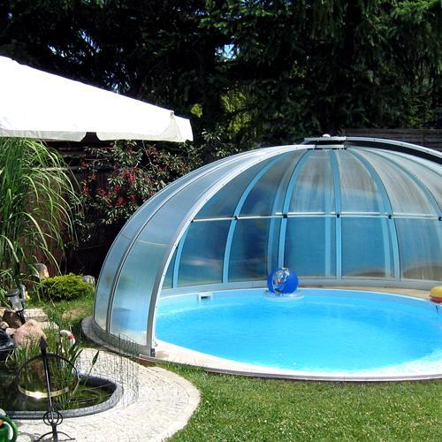 Abri de piscine en kit ooreka for Prix dome piscine