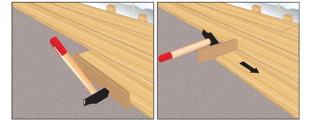 poser du parquet flottant clips parquet. Black Bedroom Furniture Sets. Home Design Ideas