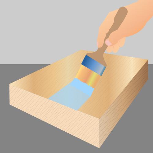 appliquez un primaire avant de peindre sur lasure