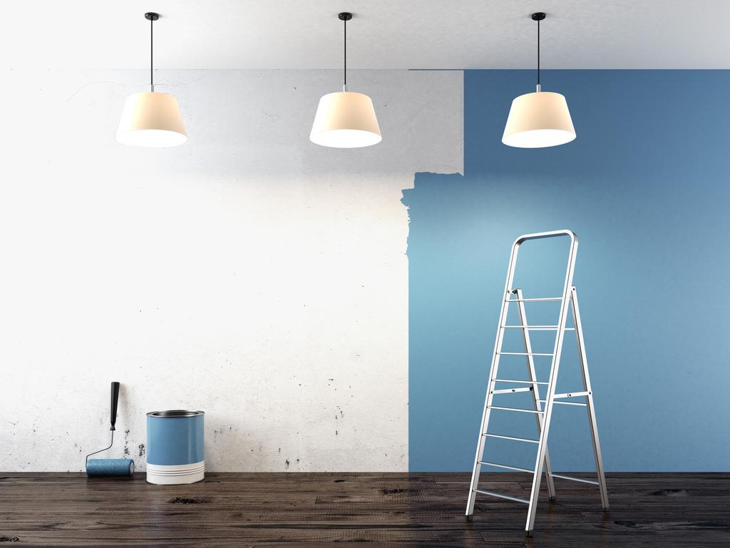 peinture satin e ou mate diff rences finition prix. Black Bedroom Furniture Sets. Home Design Ideas