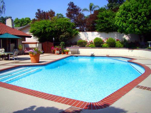 Surface et volume d\'une piscine - Ooreka