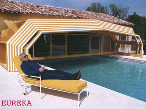 Photo guide abri de piscine provence adoss for Abris piscine eureka