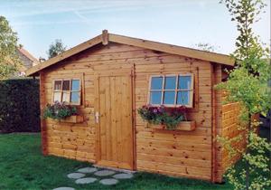 mat riaux pour abri de jardin ooreka. Black Bedroom Furniture Sets. Home Design Ideas