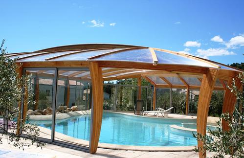 Photo abri de piscine naturel for Abri de piscine comprendrechoisir
