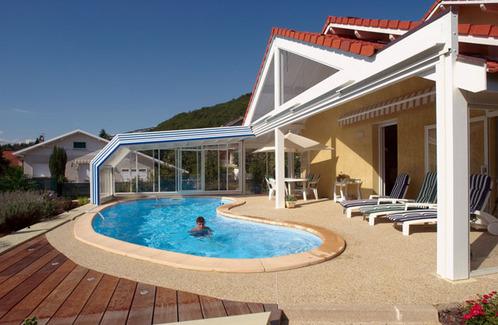 Abri de piscine en acier ooreka for Abri piscine eureka